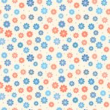 Seamless pastel floral pattern Royalty Free Stock Photos