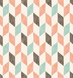 Seamless pastel herringbone pattern Royalty Free Stock Photography