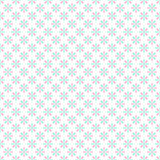 Seamless pastel pink and green flower pattern gift wrapping pape Royalty Free Stock Photography