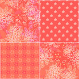 Seamless patchwork elements pattern Stock Photography