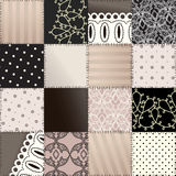 Seamless patchwork of lingerie Royalty Free Stock Photography