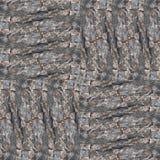 Seamless patchwork pattern dark bark background photo manipulati Royalty Free Stock Images