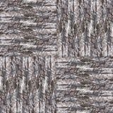 Seamless patchwork pattern dark bark background photo manipulati. On Royalty Free Stock Photo
