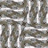 Seamless patchwork pattern dark bark background photo manipulati. Dark poplar bark texture background photo manipulation Royalty Free Stock Photo