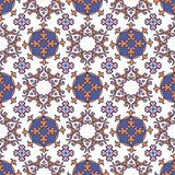 Seamless patchwork pattern from Moroccan ,Portuguese tiles. Deco Stock Photography