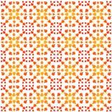 Seamless Pattern autumn leaves tile Stock Image