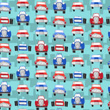 Seamless patter with cars. Can be used for textile, kids clothes Royalty Free Stock Images