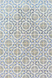 Seamless patter made of traditional azulejos tiles Royalty Free Stock Photos