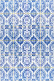 Seamless patter made of traditional azulejos tiles Royalty Free Stock Photography