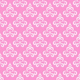 Seamless patter pink background vector illustration. Seamless pattern wedding, girl, pink background vector illustration Stock Photos