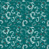 Seamless patterm with floral ornament. vector illustration