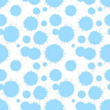 Seamless patterm with painted splash texture Stock Photos