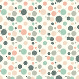 Seamless patterm with painted splash texture Royalty Free Stock Photo