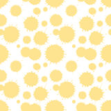Seamless patterm with painted splash texture Royalty Free Stock Photography