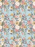 Seamless Pattern-004. The nosegay in spring seamless background pattern royalty free illustration