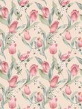 Seamless Pattern-048 Royalty Free Stock Images