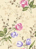 Seamless pattern 05010 Stock Image
