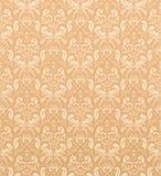 Seamless pattern. Seamless ornamental wallpaper, floral pattern, illustration Stock Photography