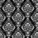 Seamless pattern. Black and White Seamless Pattern Stock Photography
