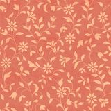 Seamless pattern 1105-006. Illustration paisley seamless background pattern royalty free illustration