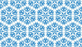 Seamless pattern. Vector illustration of blue seamless pattern Stock Image