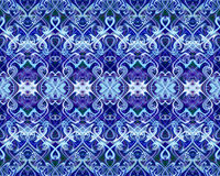 Seamless pattern. Seamless pattern of repeating colored tracery Stock Photography