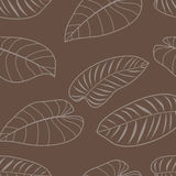 Seamless pattern. Floral seamless pattern. Vector illustration Stock Photo