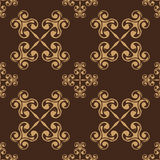 Seamless pattern. Decorative seamless pattern. Vector illustration Stock Photo
