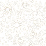 Seamless pattern. With  floral element Stock Photos