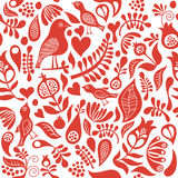 Seamless pattern. With floral elements Stock Image