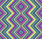 Seamless pattern. Background with colourful ethnic motifs Royalty Free Illustration