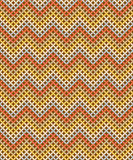 Seamless pattern. Zig-zag background with Earthtone vector illustration