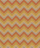 Seamless pattern. Zig-zag background with Earthtone Vector Illustration