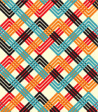 Seamless pattern. Colorful zigzag background for design Vector Illustration