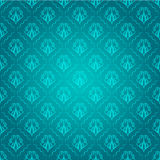 Seamless Pattern. Abstract vintage seamless Turquoise pattern Royalty Free Stock Photography