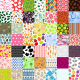 Seamless Pattern 49 of Set Vector Illustration Royalty Free Stock Photography