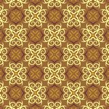Seamless Pattern. Seamless curve pattern or wallpaper stock illustration