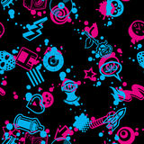 Seamless Pattern 90 Degree Stock Image