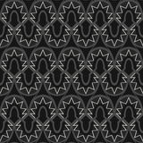 Seamless pattern. Abstrack black and white seamless pattern royalty free illustration