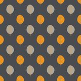 Seamless pattern of abstract autumn leaves. Vector seamless pattern of abstract autumn leaves Stock Photography
