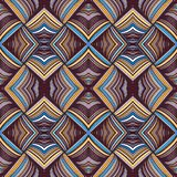 Seamless pattern abstract background with complicated ornament of threads and knots. vector illustration