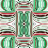 Seamless pattern abstract background with complicated ornament of threads and knots. stock illustration