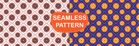 Seamless pattern abstract, Royalty Free Stock Image