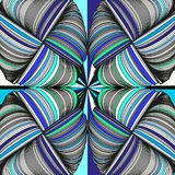 Seamless pattern abstract background with ornament of threads and knots. stock illustration
