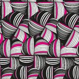 Seamless pattern abstract background with ornament of threads and knots. royalty free illustration