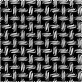 Seamless Pattern abstract Black Background Vector Illustration Stock Photos