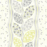 Seamless pattern of abstract blooming branches. Stock Images
