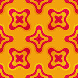 Seamless pattern with abstract colorful shapes royalty free stock photography