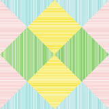 Seamless pattern. Abstract. Colorful squares. Royalty Free Stock Photography
