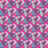 Seamless Pattern with Abstract Colorful Texture Royalty Free Stock Images